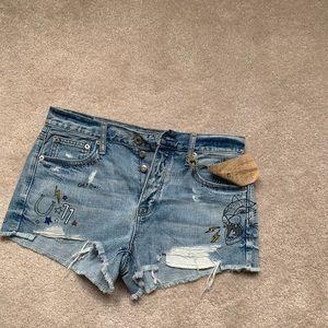 Denim/jeans shorts